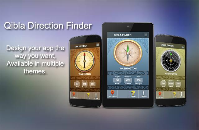 qibla direction compass free