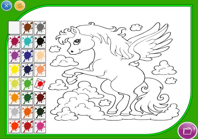 Игры онлайн бесплатно раскраски для детей