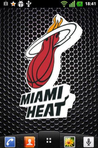 Miami heat 3d live wallpaper sport apps android informer - Miami heat wallpaper android download ...