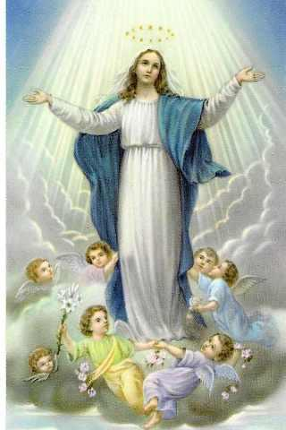 3d mother mary wallpapers