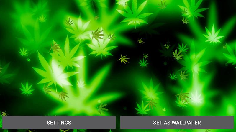 Marijuana Fond D 233 Cran Anim 233 1 0 Pour Android