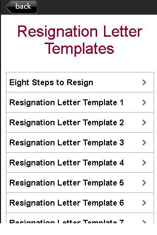 resignation letter templates android informer how to say i quit the right way professional