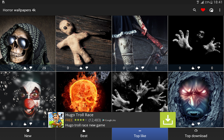 Horror Hd Wallpapers For Android: Android Informer. Horror Wallpapers