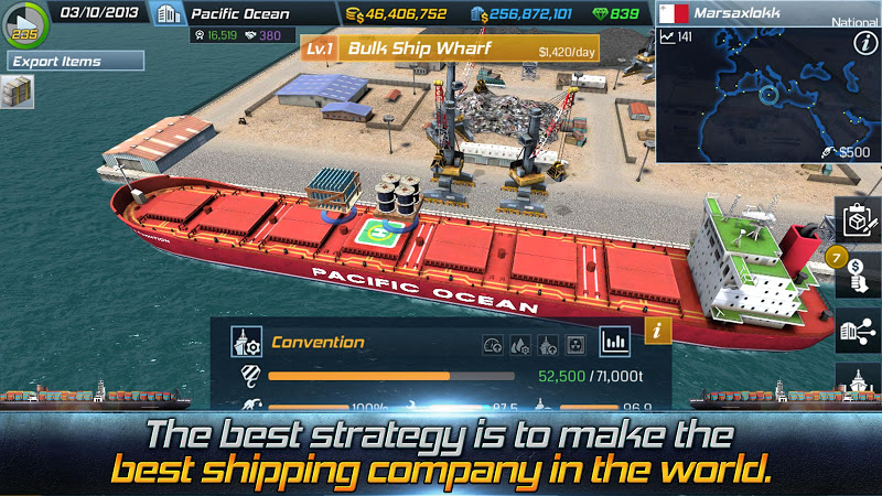 the next iphone ship tycoon free tradegame shiptycoon 13100