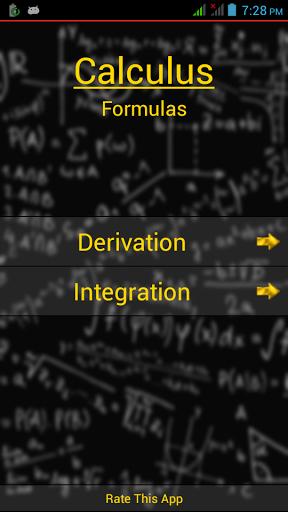 calculus formulas pdf free download