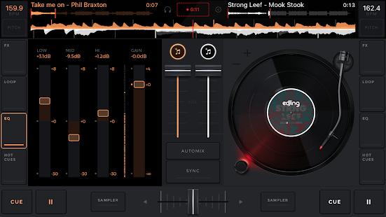 dj music mixer free download full version