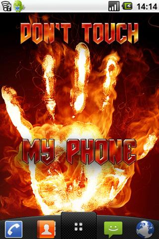 Dont Touch My Phone Lwp Descarga Gratis Idtechlwp