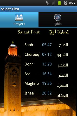 salaat first gratuit