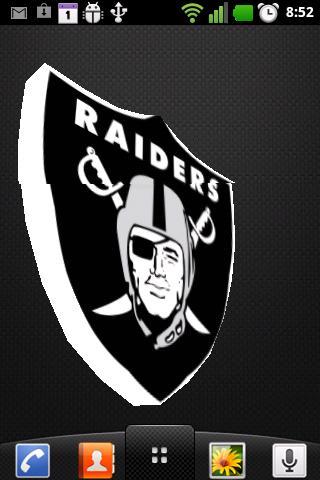 Oakland Raiders 3D Wallpaper Free Download