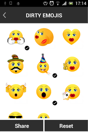how to get dirty emojis