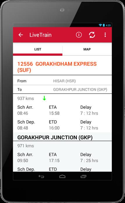 Live Train IRCTC Enquiry PNR Status Indian Railway 2 2 4 Download (Free)