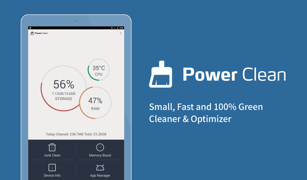 Image result for Power Clean - Antivirus & Phone Cleaner App