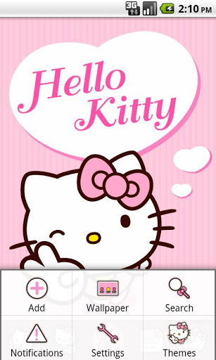 Hello Kitty Pink Heart Theme Free Download - sone android