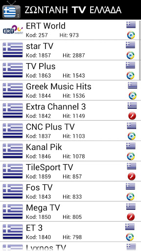 Live TV Greece Free Download - tr gen hyper tv live greece