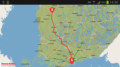 Fonecta Kartta Helsinki Kartta