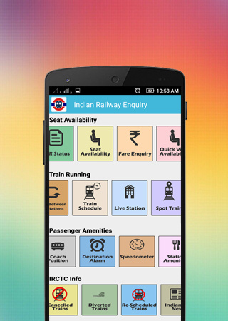 Indian Railways Enquiry 6 4 for Android - Download app for free